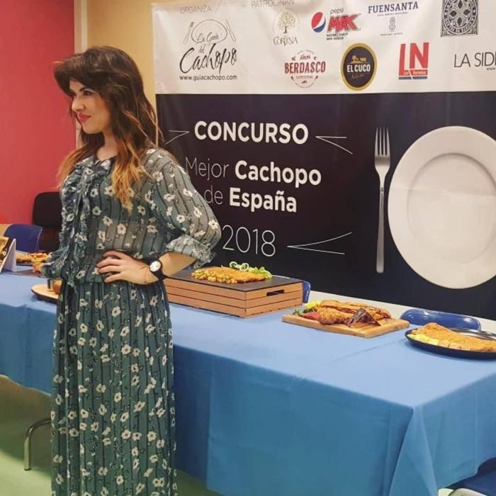 Raquel Mendaña Carlo Boutique Gala Cachopo